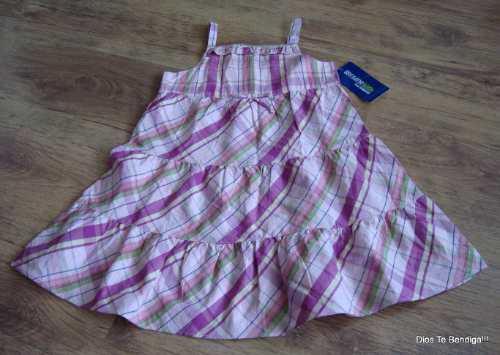 Vestidos De Verano Oshkosh Niñas T3 Y T4