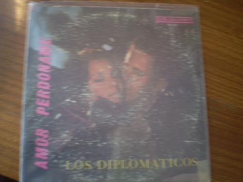 Vinilo Los Diplomaticos    Amor Perdoname (u647
