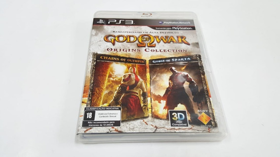 Jogo God Of War Origins Collection - Ps3 - Original