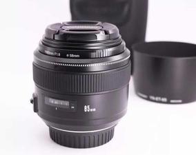 Lente Yongnuo Yn 85mm 1.8 Canon