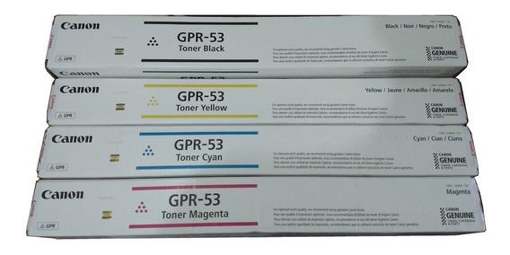 Toner Canon Gpr-53 Kit Com As 4 Cores
