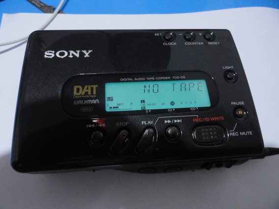 Walkman Dat Sony Tcd-d8 Antigo Lindo Technics Tascan Marantz