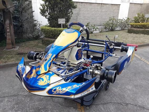 Kart Praga Dragon 2018 P/ Motor Rotax Dd2 - Tony Crg