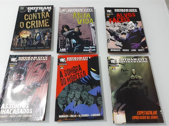 Gotham City Contra O Crime Completa Panini