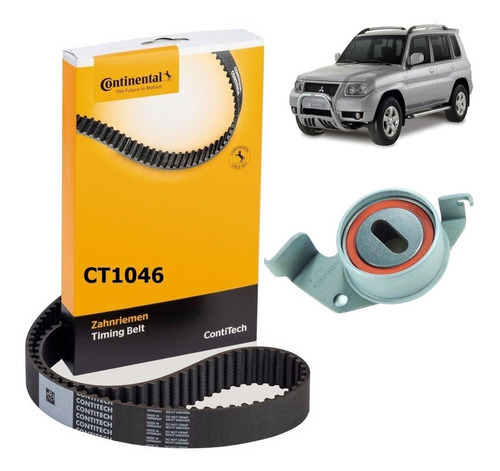 Kit Tensor + Correia Dentada Mitsubishi Pajero Tr4 2.0 16v