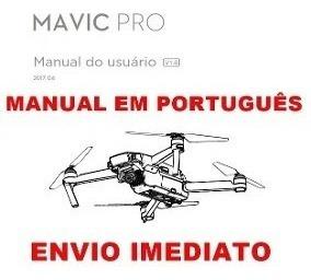 Manual Em Português Do Drone Dji Mavic Pro, Em Pdf