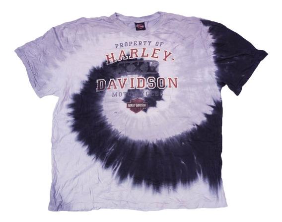 Playera Harley Davidson Talla 2xl Original Xxl
