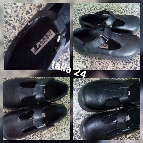 Zapatos Escolares Talla 24