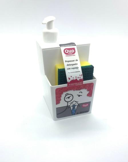 Botella Para Detergente Sr Dispenser Esponja Organizador