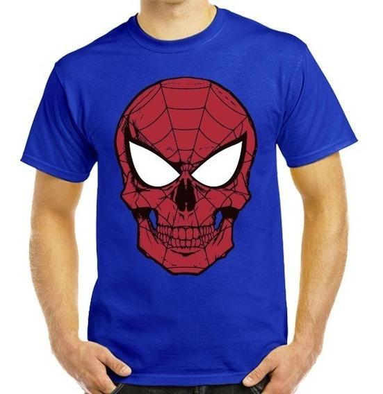 Súper Playeras Spiderman, Hombre Araña, Dama Y Caballero