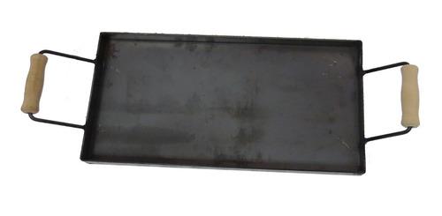 Imagen 1 de 5 de Plancha Bifera De Hierro De 3,2mm 25 X 50 X 3.5 Cm De Alto