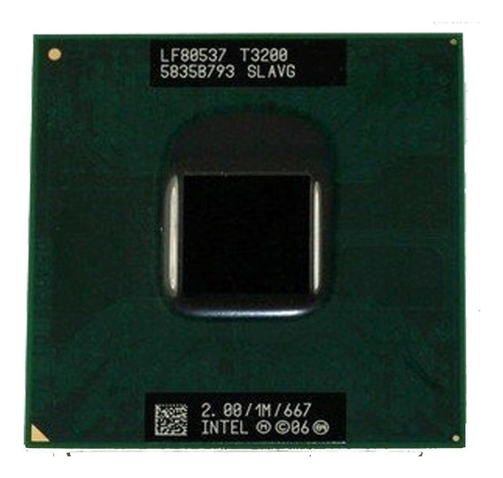 Processador 2.0ghz Intel Dual Core T3200 Slavg Compaq Cq50