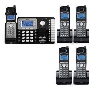 Telefono Empresarial R C A 2 Lineas + 4 Tel Inalambricos.