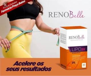 Renobelle Lipo 2x -60 Cps# Emagrecedor # Redutor De Medidas