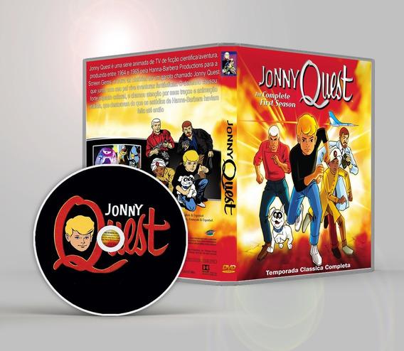 Jonny Quest 1964 Classico Completo Dublado Frete Gratis