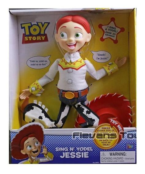 Boneca Vaqueira Jessie Toy Story 35 Cm Inglês Na Caixa Caixa
