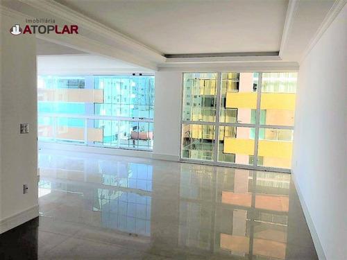 Apartamento À Venda, 126 M² Por R$ 1.550.000,00 - Meia Praia - Itapema/sc - Ap1815