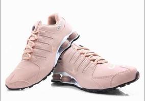 Tênis Nike Shox Nz Feminino Rose - Original