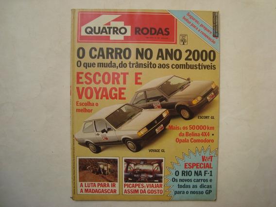 Revista Quatro Rodas N. 320 / Ano 1987