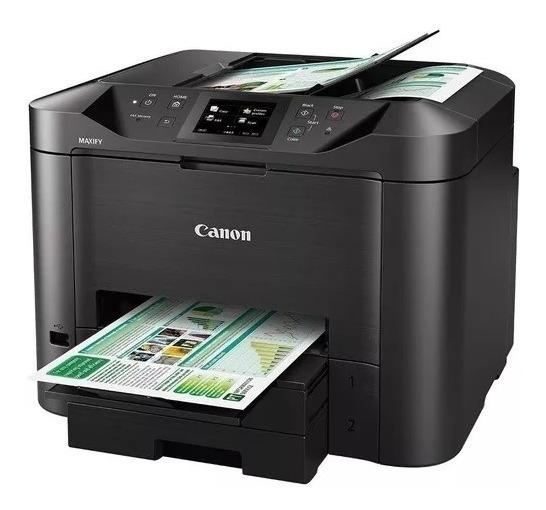 Impressora Multifuncional Canon Maxify Mb5410 Nova - Com Nf
