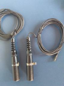 Microfone Miniatura Crown Glm-100 Condensador Made Usa