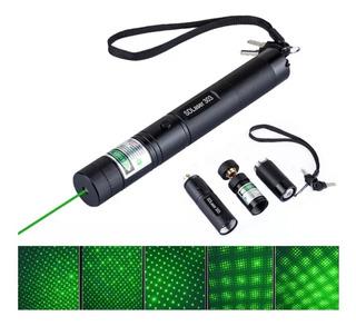 Puntero Laser Verde 5000mw Bateria Y Cargador Foco Ajustable