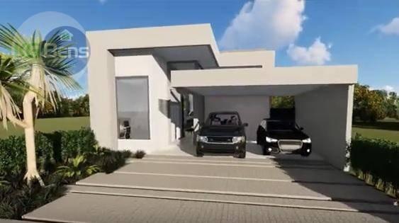 Casa Térrea Com 3 Suítes À Venda, 180 M² Por R$ 950.000 - Condomínio Reserva Real - Paulínia/sp - Ca0433