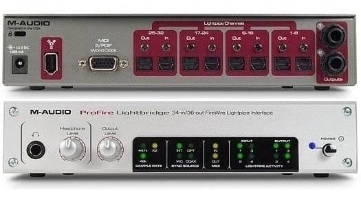 Interface De Audio M Audio + 1 Ada Pro 8 Digital Behringer
