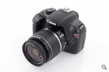 Camera Canon Rebel T3 Igual Nova, C/ Carregador, Caixa, Cd´s