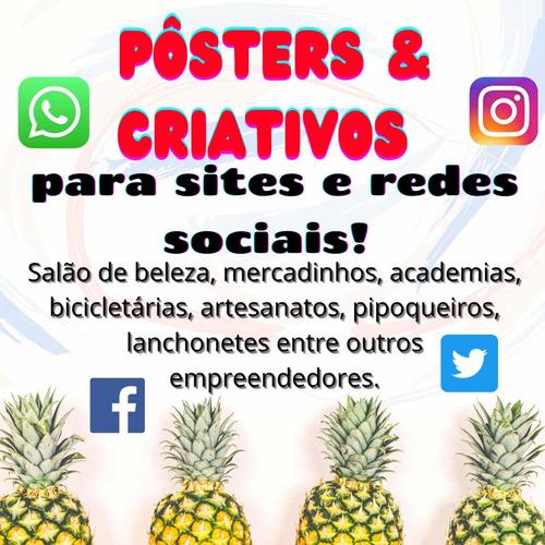 Pôsters Criativos Para Rede Social