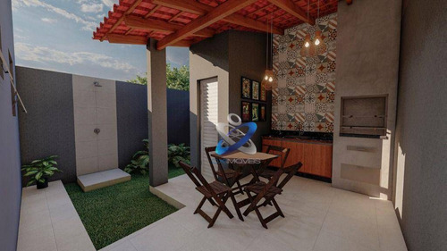 Imagem 1 de 19 de Casa Com 3 Dormitórios À Venda, 133 M² Por R$ 350.000 - Residencial Esperança - Caçapava/sp - Ca1027