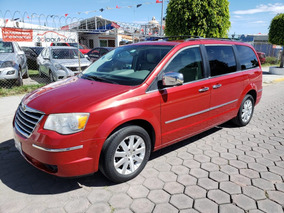 Chrysler Town & Country Limited 2008 Rojo