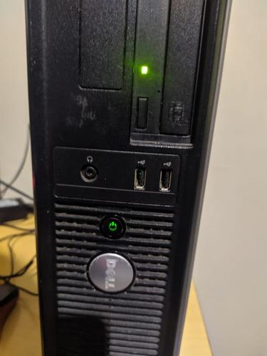 Computador Dell Optiplex 320 Somente Cpu!