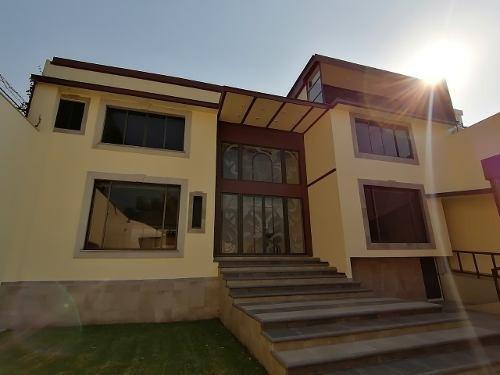 Hermosa Casa En Renta, Jardines Del Pedregal, Alvaro Obregon