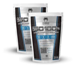 Whey Protein Isolado 2 Pacotes (4 Kilos) Iso 100% Proten Wey