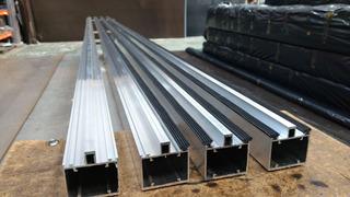 Kit Perfis De Aluminio + Frete + Cortes