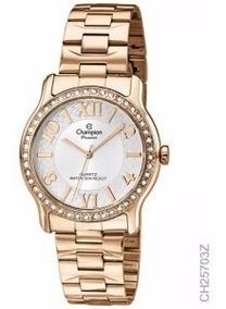 Relógio Feminino Champion Passion Rosê Ch25703z Original