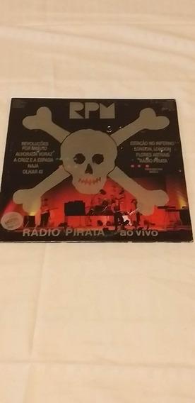 Disco Vinil Rpm Rádio Pirata Ao Vivo