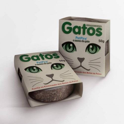 Graminha Para Gatos Pet Pira 50g