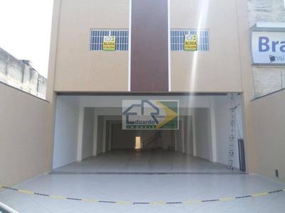 Salão Novo Para Locação, Centro, Suzano. - Sl0035