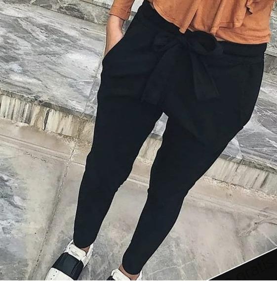 Pantalon Babucha De Crepé Talles Del 38 Al 48 Cuotas Sin Int