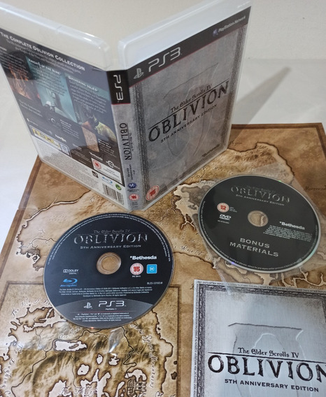 The Elder Scrolls 4 Oblivion 5th Anniversary Edition Ps3