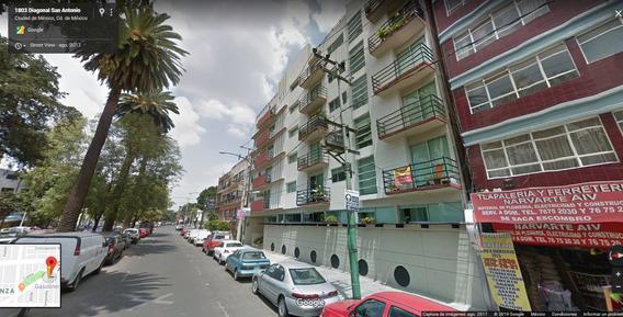 Departamento En Diagonal San Antonio 1809 Col.narvarte Pte.