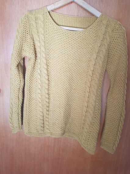 Sweater Mostaza Sin Uso
