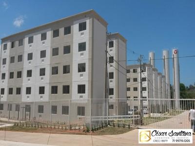 Passo Financiamento, Apartamento 2/4 Pronto Para Morar - Atrás Do Maxxi Atacado - Ap00625 - 33778810