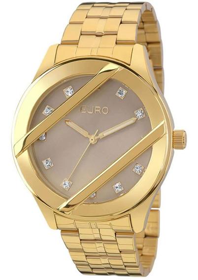 Relógio Feminino Euro Eu2039jb/4c Barato Original Garantia