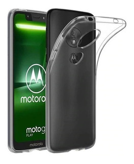 Carcasa Gel Silicona Moto G7 Play + Lamina