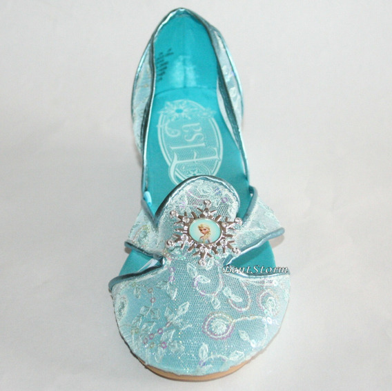 Sapato Princesa Elza Original Da Disney Store