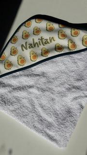 Toallón Con Capucha Para Bebé
