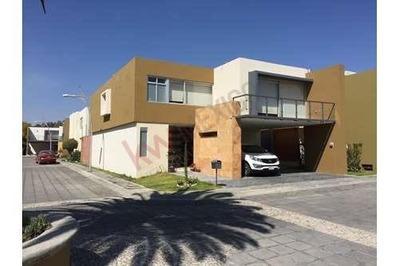 Casa En Renta En La Recta A Cholula, Fraccionamiento Exclusivo Cipreses De Zavaleta